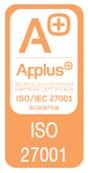 Certificado ISO27001 (PDF, 385 KB)